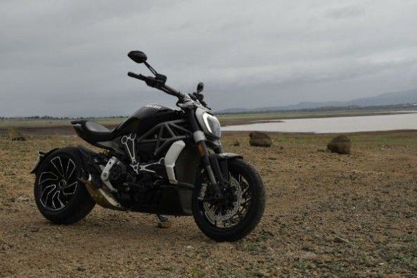 Save for the looks, there's little in common between the Diavel and