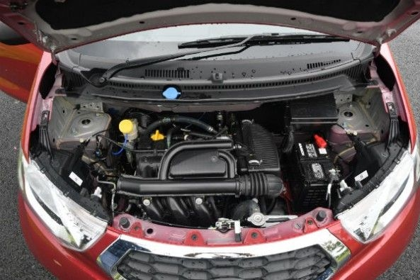 The 1.0-litre engine makes 68hp.