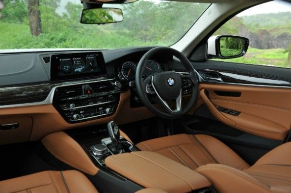 There's hardly any feature that the Luxury Line variant misses over the more powerful 530d variant.