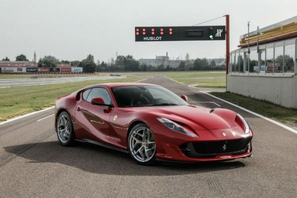 The 812 Superfast gets F1-derived aerodynamics