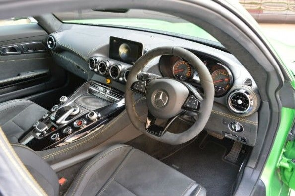 Cabin is same as the GT S, but uses more Alcantara.