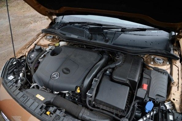 GLA's 170hp and 350Nm of pulling power.