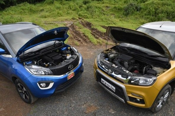 Under the hood of both contenders.