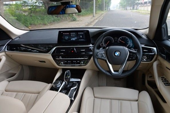 Extremely refined interior.