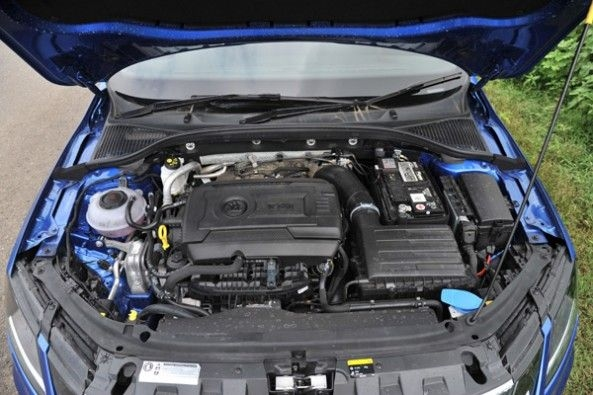 Euro-spec powertrain on the new RS.