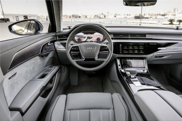 Extremely high-quality interior.