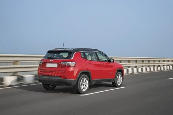 Jeep Compass petrol.