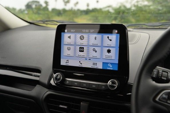 All-new colour touchscreen.