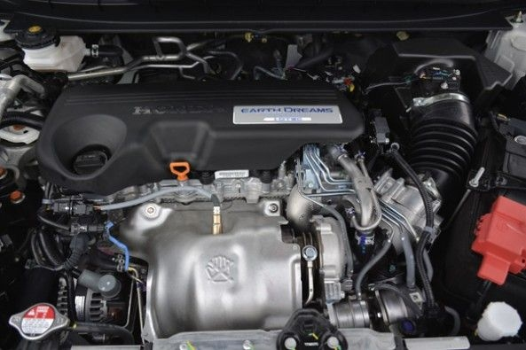 The new diesel engine in the CR-V.