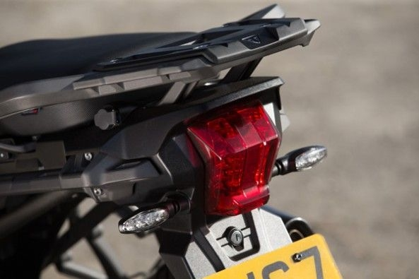 All-LED tailight on the new Tiger.