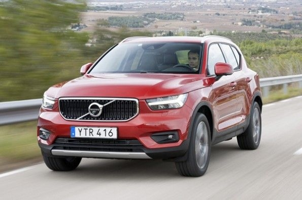 The Volvo XC40 has an appealing design.