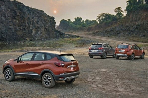 The Captur comes with modern European styling.