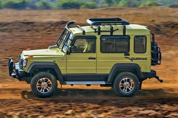 The Force Gurkha is made for off-roading.