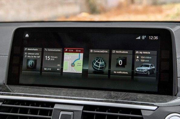BMW's iDrive is a tried and tested system.