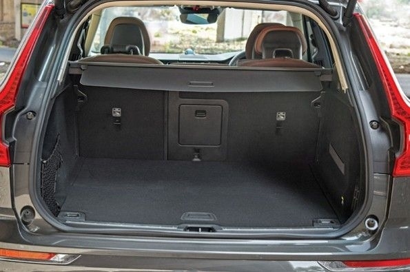 The XC60's boot.