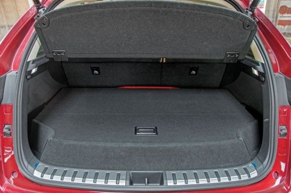 The boot in the Lexus NX300h.
