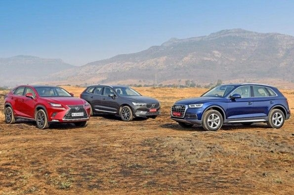 The Q5 design looks simple and reserved when compared to the othe two.