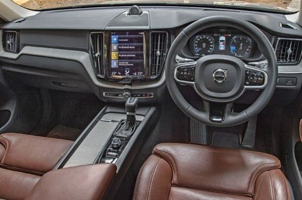 The XC60's cabin is feature rich while being very well built.
