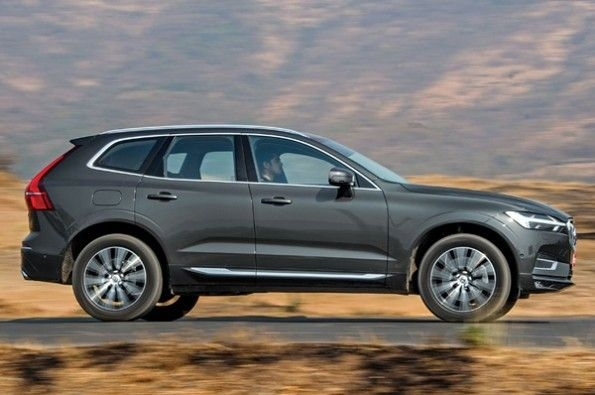 The XC60 is the only car in its segment with air-suspension.