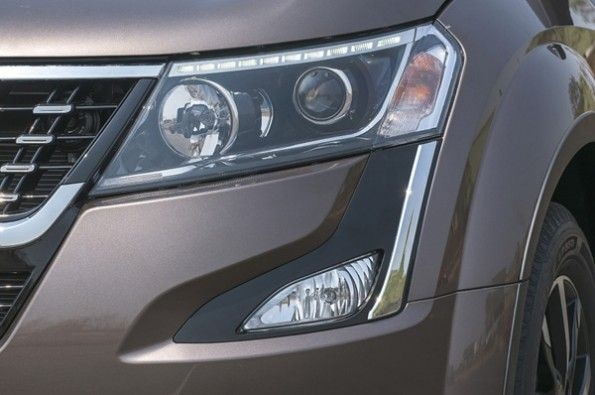 The LED DRL strip looks aftermarket.