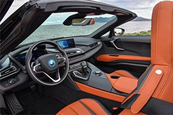 The interior is futuristic and advanced.