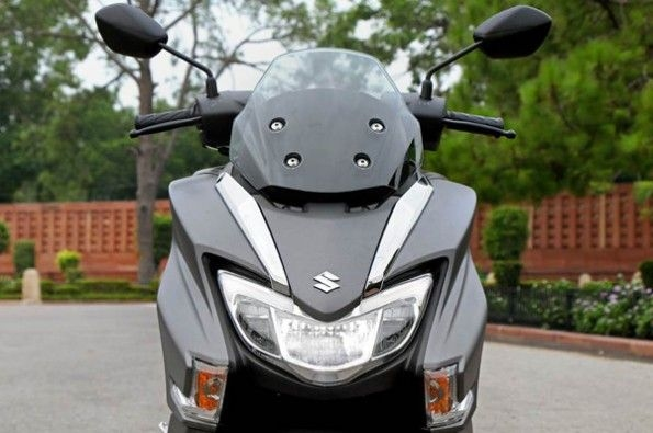 The LED headlight is the most powerful in the segment.