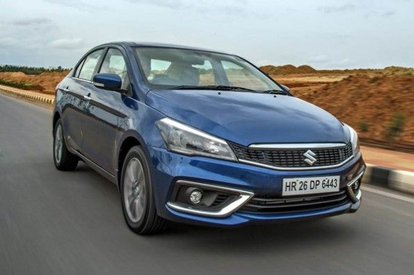 The new grille adds a bit of class to the Ciaz.
