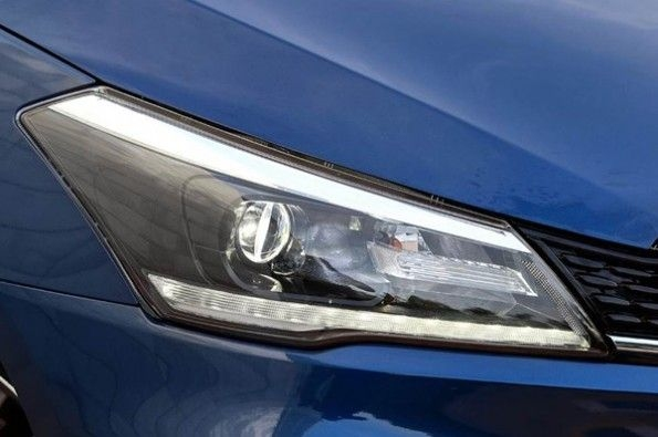 The headlight is an all-LED unit.