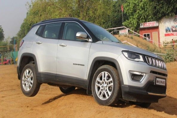 Jeep Compass Off-Roading Sand Dunes