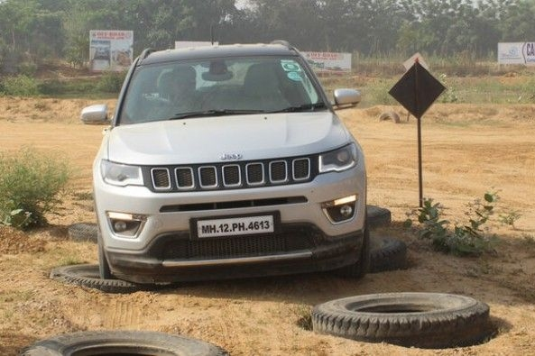 Jeep Compass Off-Roading Tyre Test