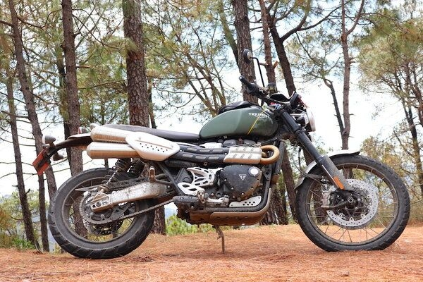 Triumph Scrambler 1200 Road Test