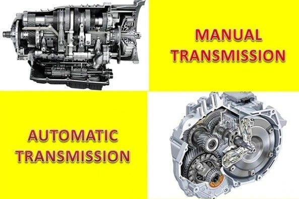 manual and automatic transmission engine