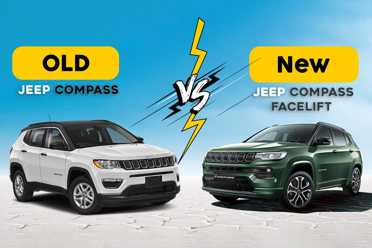 Jeep Compass Old vs New Compare Price, Exterior, Interior, Engine Spec