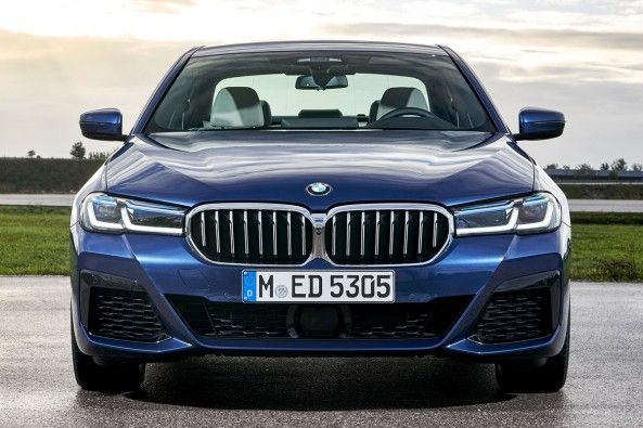 2021 BMW 5-Series Facelift