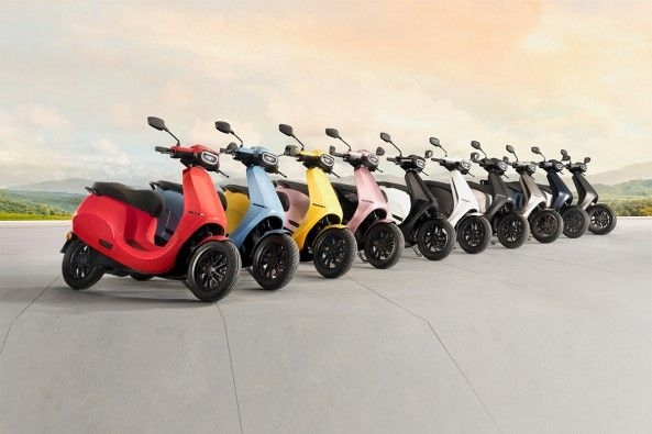 Ola Electric Scooter Color option