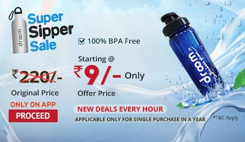 Super Sipper Sale | Register Now Option | Droom
