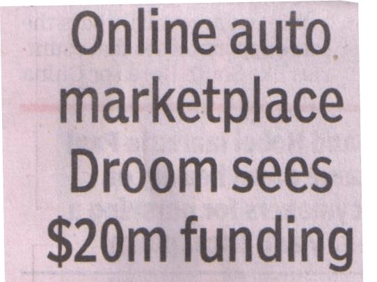 Times of India | Droom in news