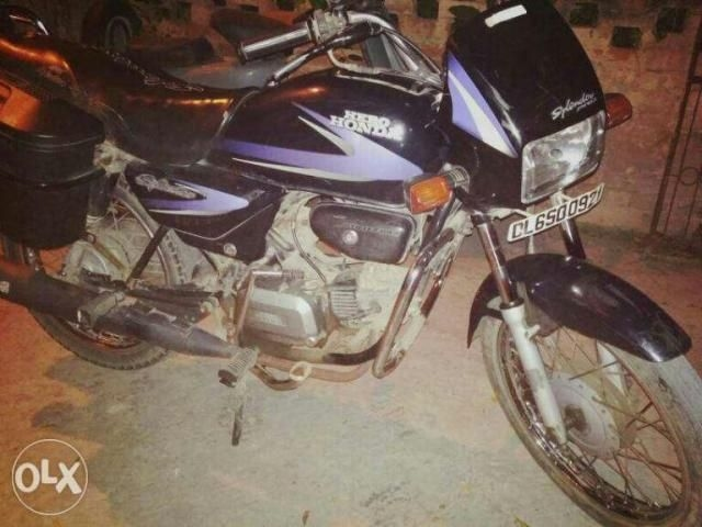 Hero Splendor 100cc 2002