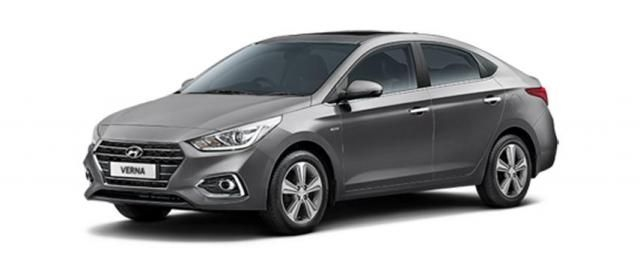 Hyundai Verna 1.6 VTVT EX AT 2019