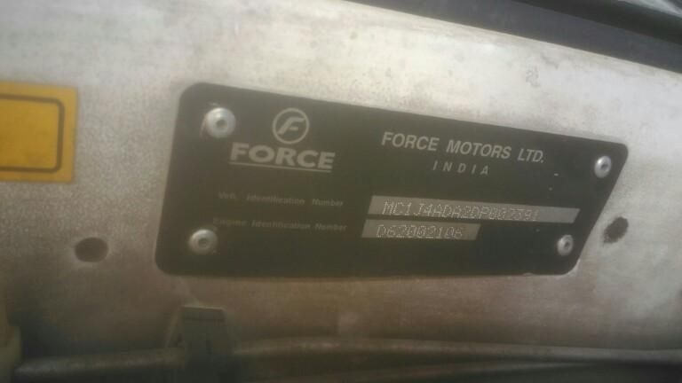 FORCE One SX ABS 7 STR 2013