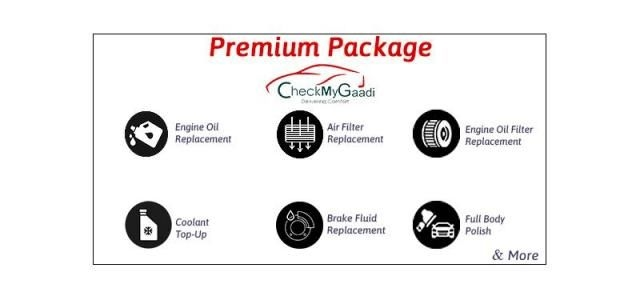 Premium Servicing - CheckMyGaadi