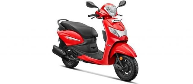 Hero Pleasure Plus 110cc Alloy BS6 2020