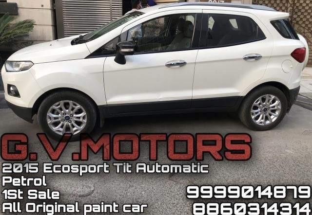 Ford EcoSport Titanium + 1.5L Ti-VCT AT 2015
